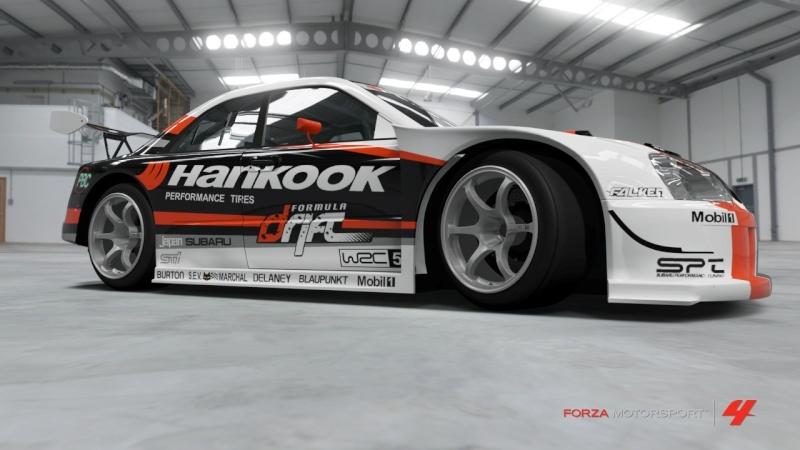 Subaru  - Advan Impreza - Team Hankook Subaru22
