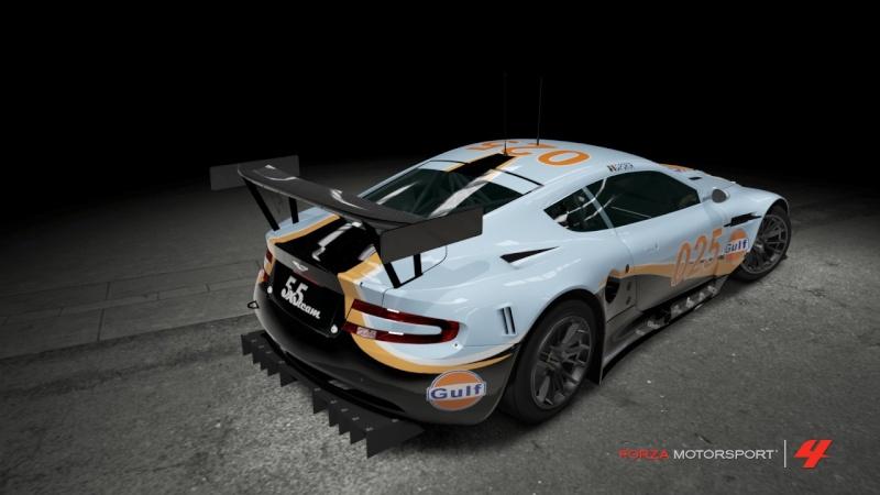 Aston Martin GT1 - ALMS Team Gulf 025 Getph121