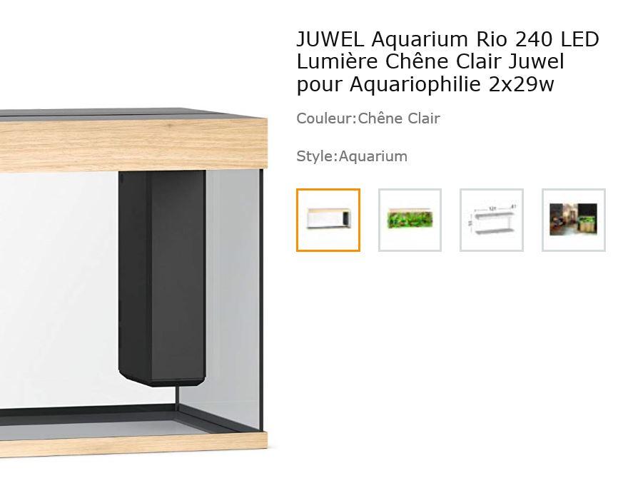 Lancement Aquarium Juwel Rio 240 d'occasion  Captur32