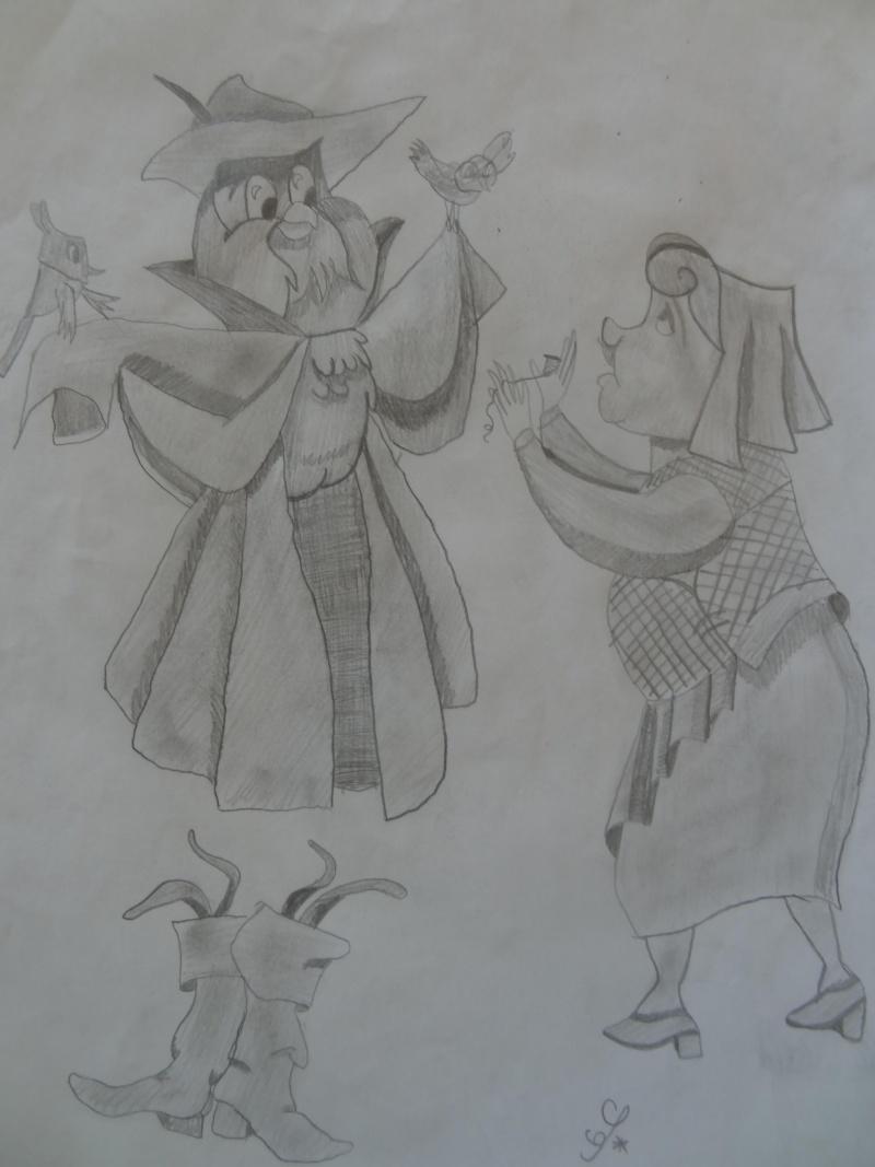 Ma caverne d'Ali Baba - mes dessins <3 Hibou_10