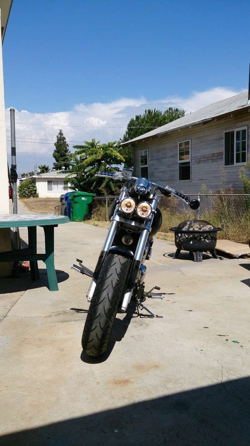 I'm back! And the bike has almost risen! .......... 2001 Marauder 800 2013-010