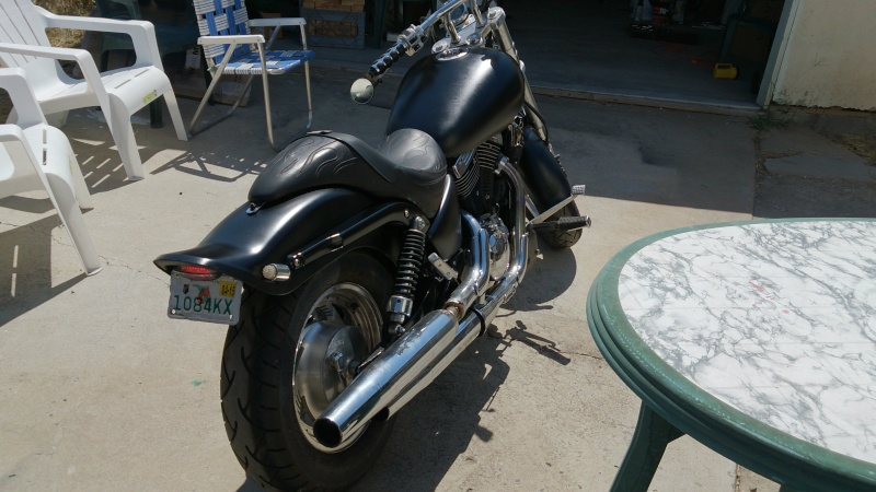 I'm back! And the bike has almost risen! .......... 2001 Marauder 800 2013-013