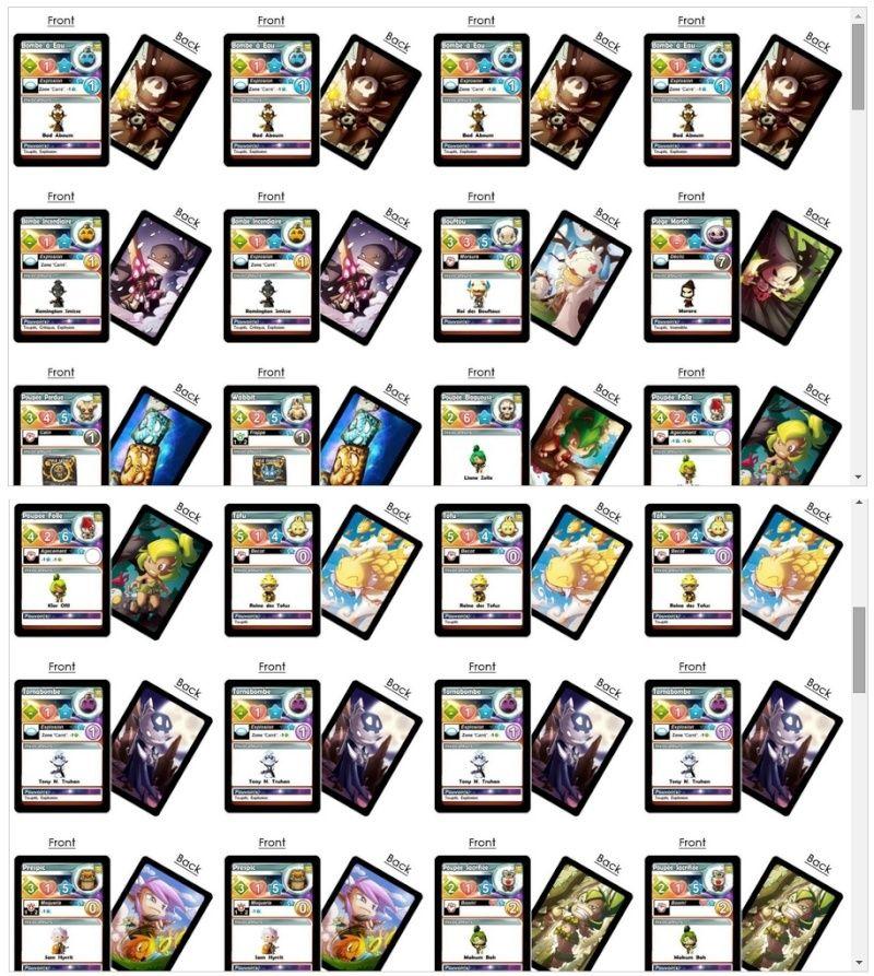 Cartes d'invocations Kros10