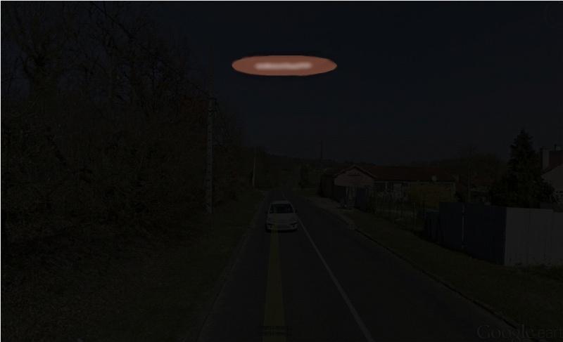 1996: le 24/10 à 1 heure 30 - lumière étrange  dans un nuageLumière étrange dans le ciel  -  Ovnis à Gironville - Seine-et-Marne (dép.77) Buis10