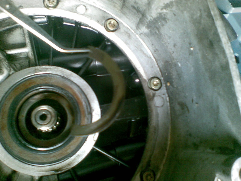 Flywheel/Clutch housing 14082011