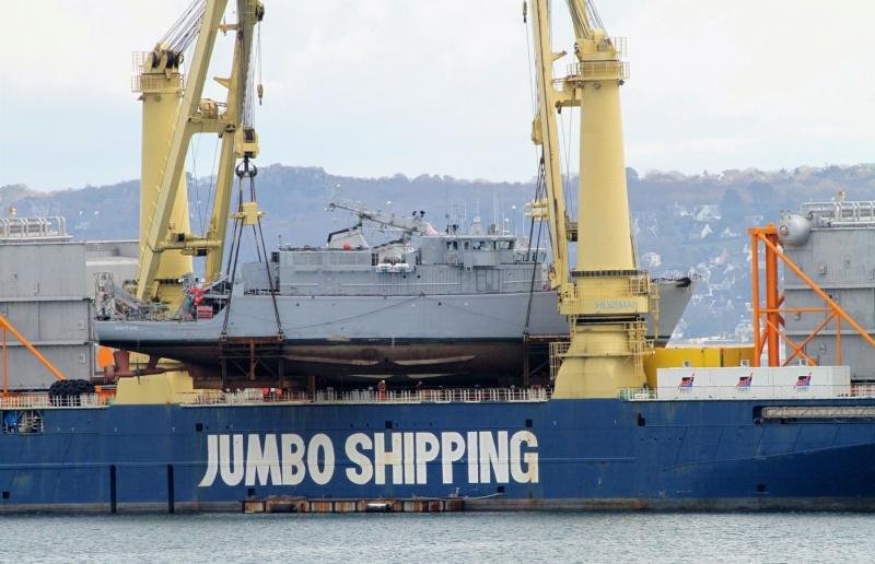 [Les ports militaires de métropole] Port de BREST - TOME 2 - Page 2 Jumbo_16