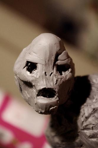 SPEED SCULPTING : créer un alien en 4h Alien_11