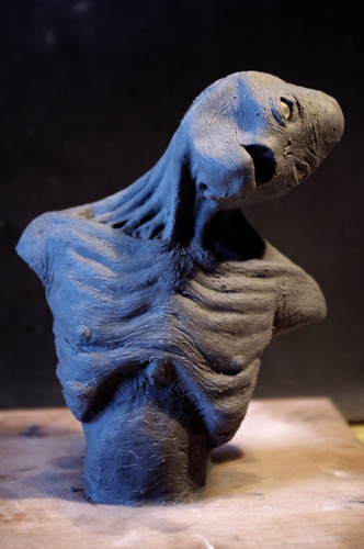SPEED SCULPTING : créer un alien en 4h Alien_26