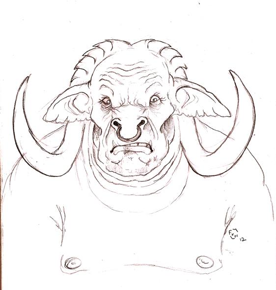 GOROTH, l'homme buffle Goroth10