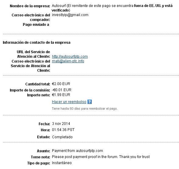 My 9no payment !!! Autosu11
