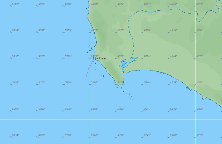 VLM    La 1421-3 l'hemisphere sud  Captur12