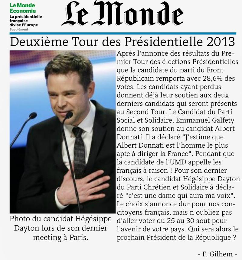 Le Monde ~ Edition du 22/08/2013 ~  Le_mon10