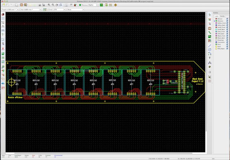 """Tuto Black Bomb Project - """"Créer ses propres circuit imprimé"""" Intégré Captur11"""