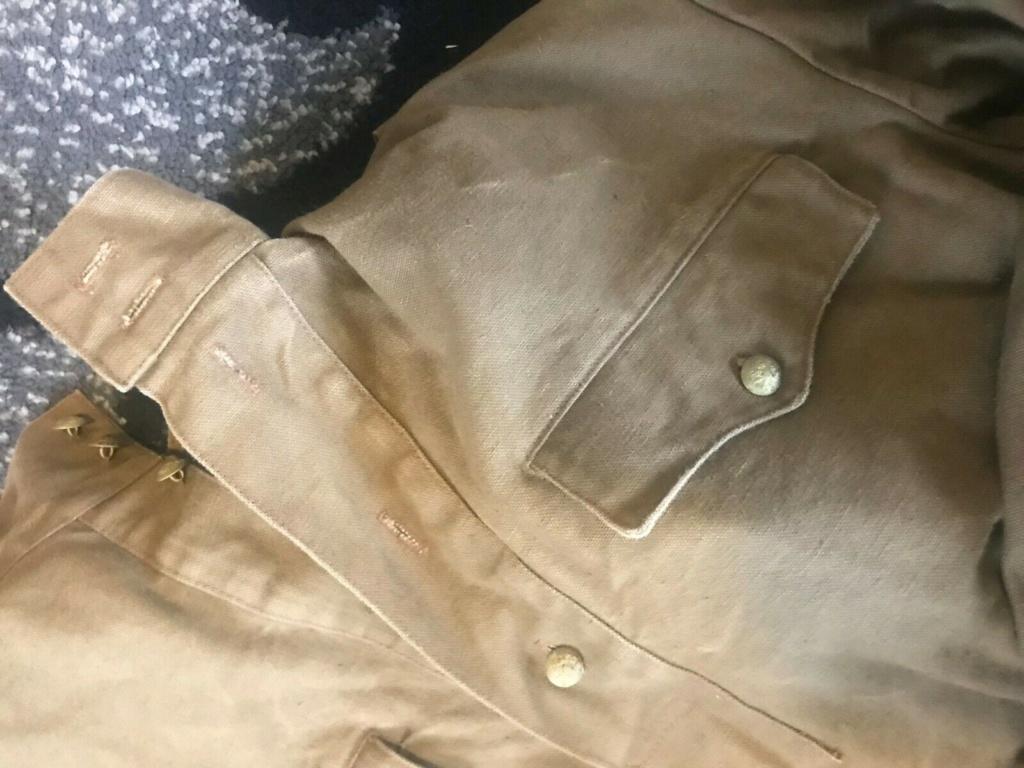 uniforme toile khaki à identifier 1012