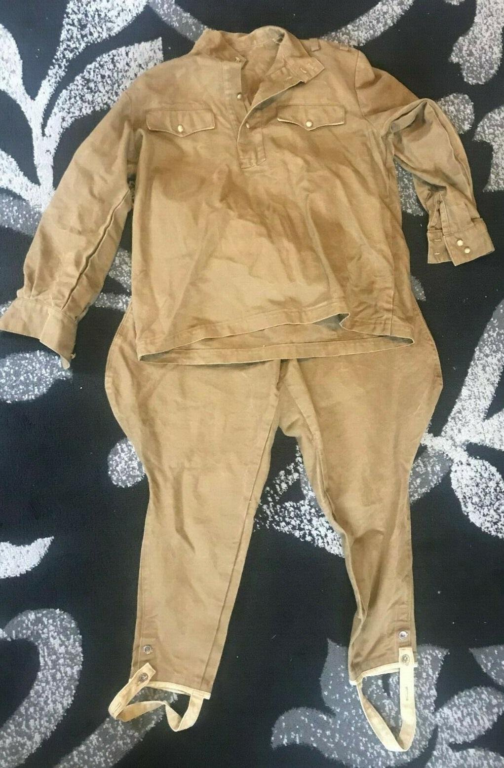uniforme toile khaki à identifier 115