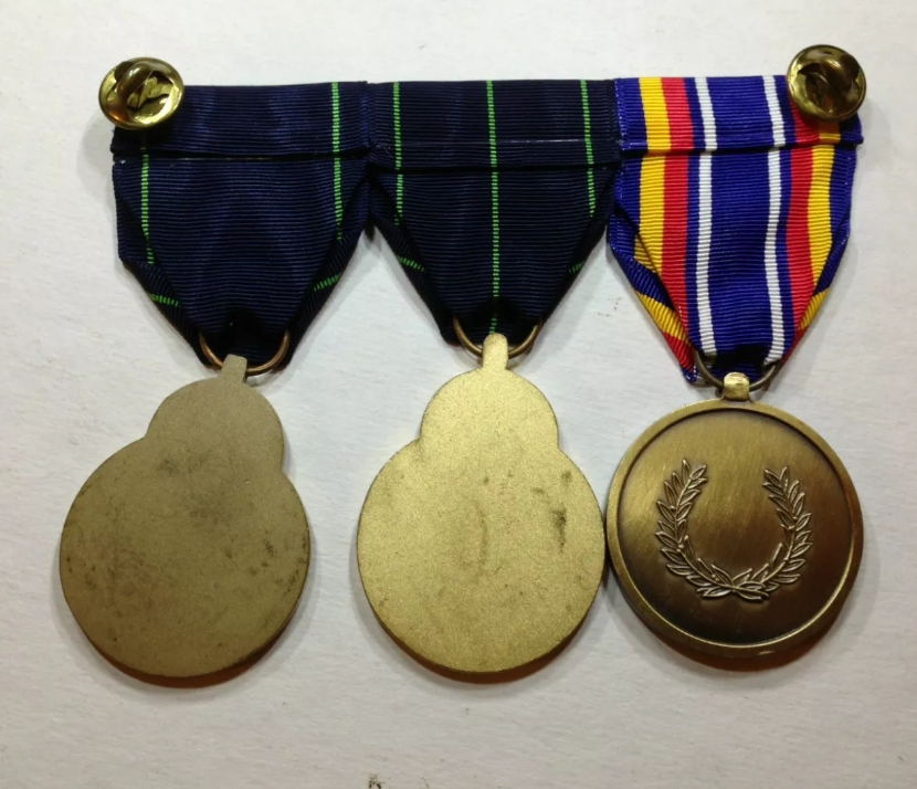 Médailles Américaine, monté en barre 20191048