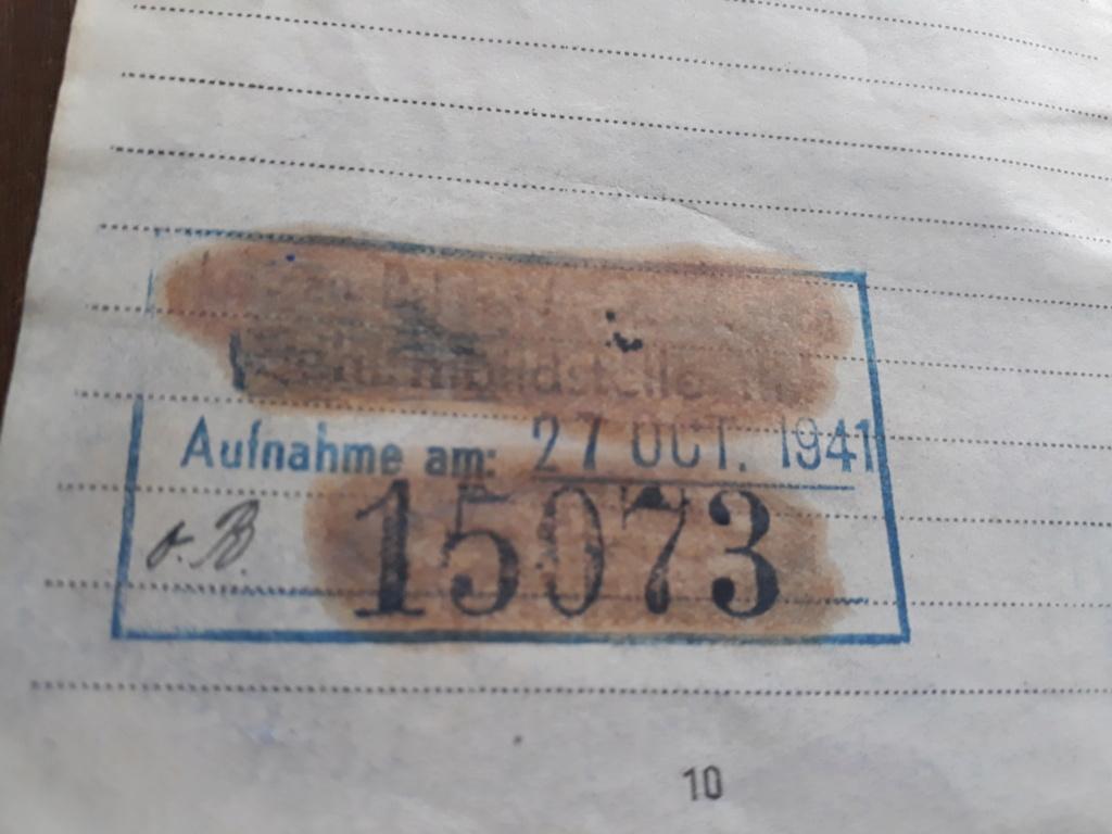 Deux Soldbuchs Luft à déchiffrer 20200967