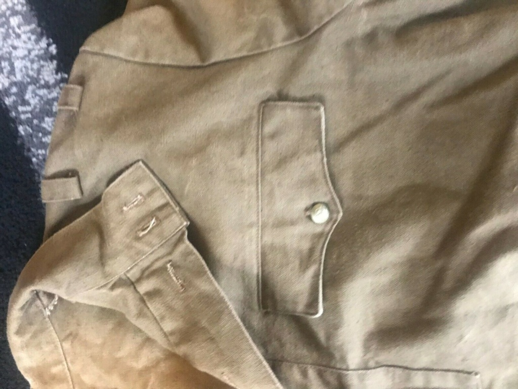 uniforme toile khaki à identifier 327