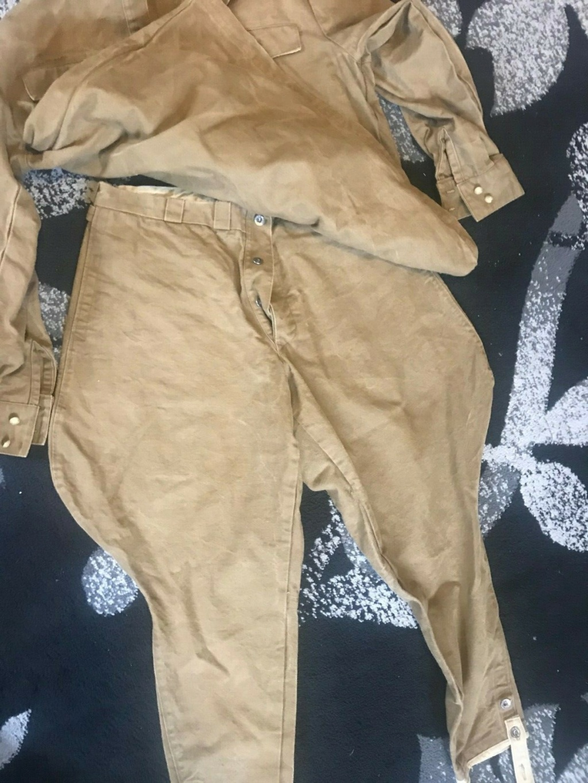 uniforme toile khaki à identifier 519