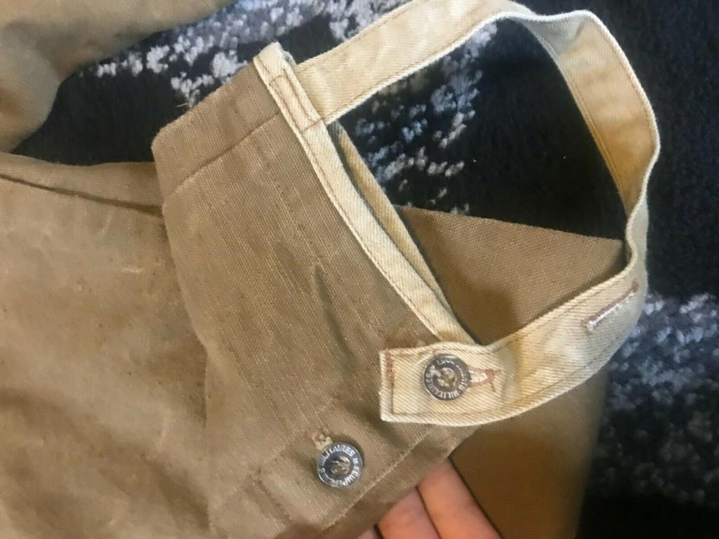 uniforme toile khaki à identifier 614