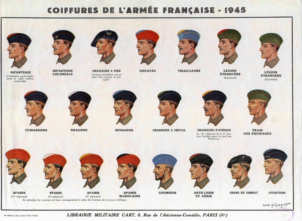 "Bonnet police Libération et Tab ""France"" Ded00510"