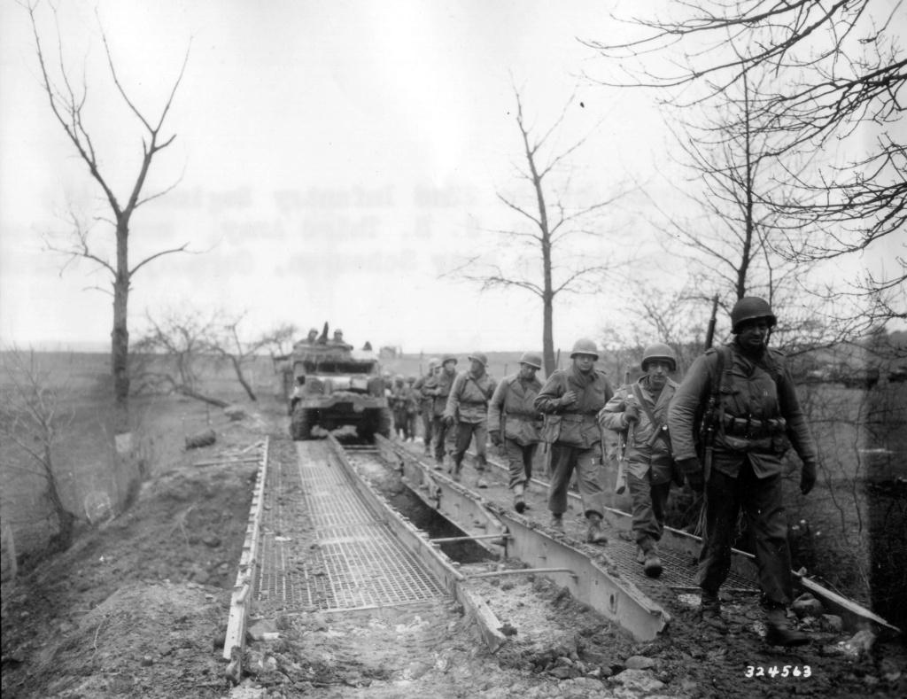 utilisation M41 arctic dans l'armée française de libération Nara1510