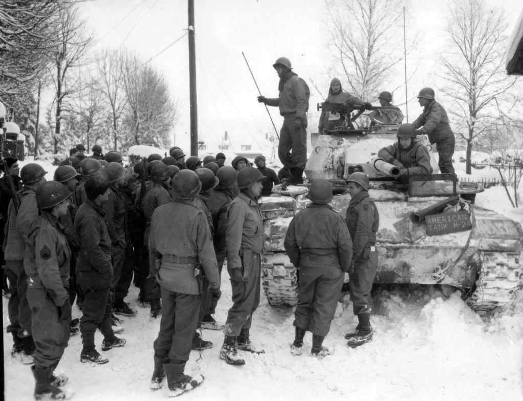 utilisation M41 arctic dans l'armée française de libération Nara1710