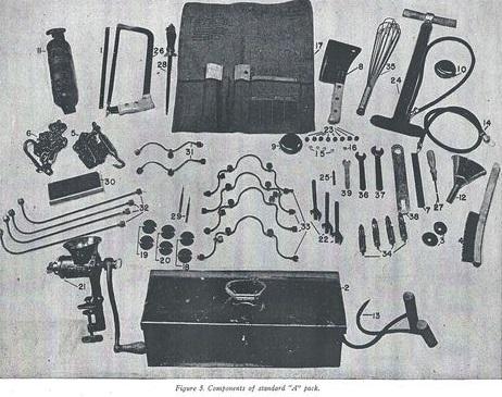 caisse de clops US WW2 et caisse à outils 1945 en acier zingué  Scan0012