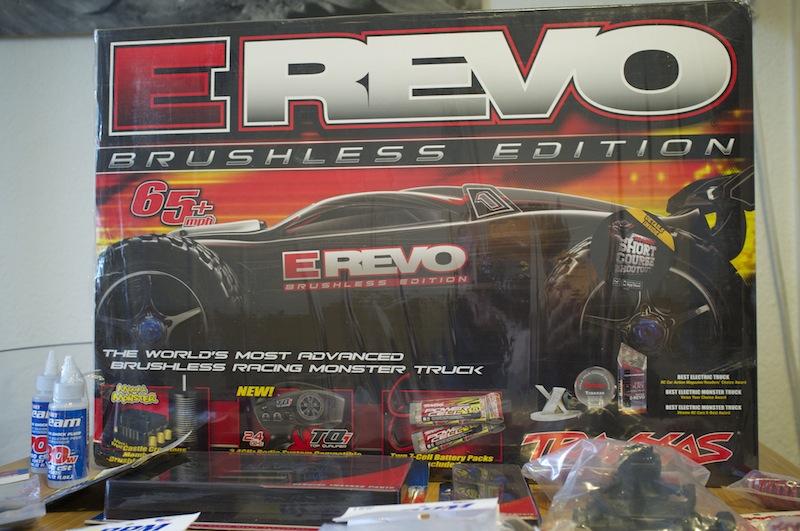 Mon E-Revo brushless Edition Projet Ultimate  Dscf3012