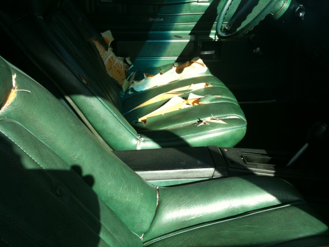 pictures of a 73 Monte I saw for sale March_16