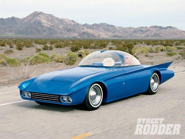 Predicta - Darrill Starbird - 1956 tbird radical bubble top custom 0907sr10