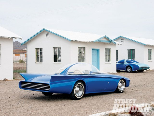 Predicta - Darrill Starbird - 1956 tbird radical bubble top custom 0907sr15