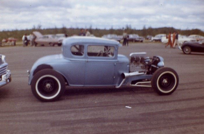 1950's & 1960's hot rod & dragster race 10000110