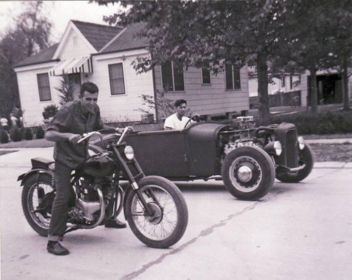 "Hot rod in street - Vintage pics - ""Photos rétros"" -  - Page 2 10038510"