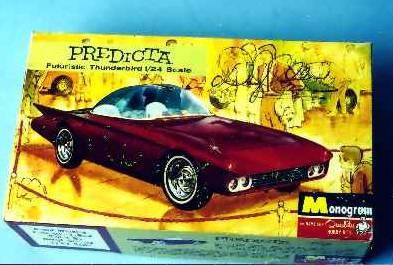 Predicta - Darrill Starbird - 1956 tbird radical bubble top custom 1012