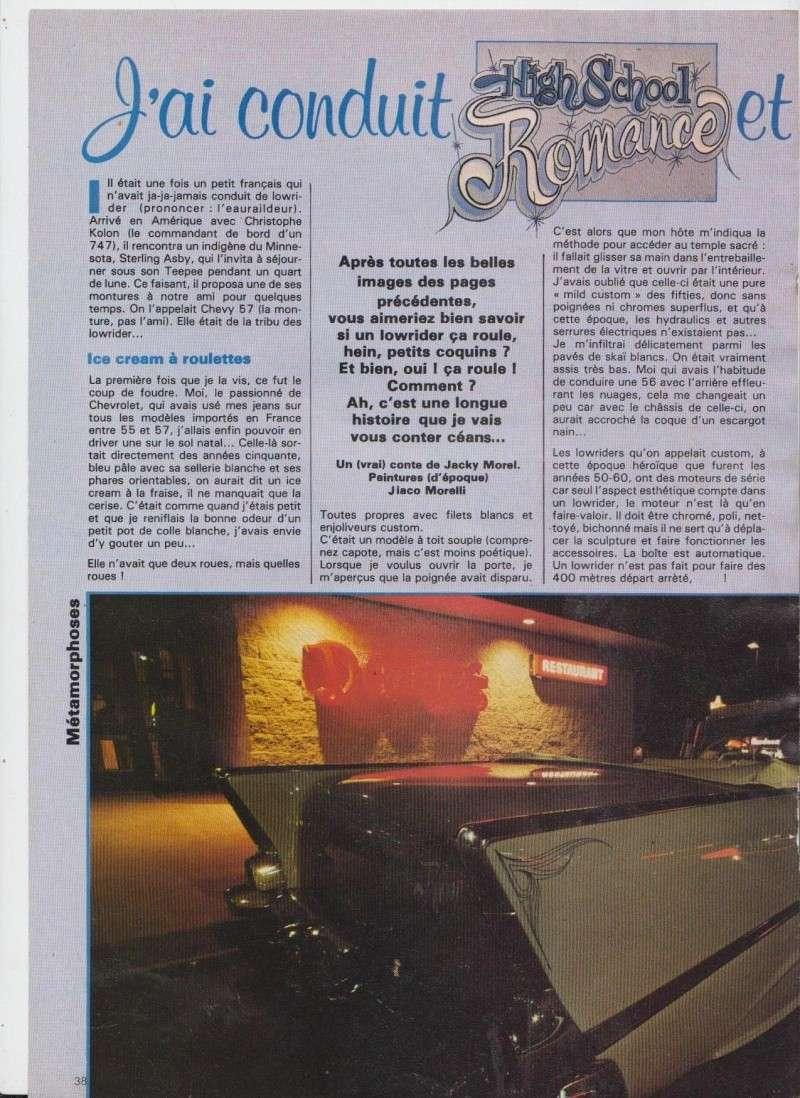 """Article """"Rod et Custom"""" années 80 110"""