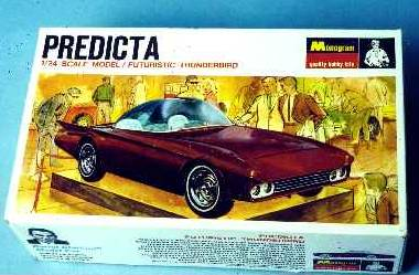 Predicta - Darrill Starbird - 1956 tbird radical bubble top custom 1112