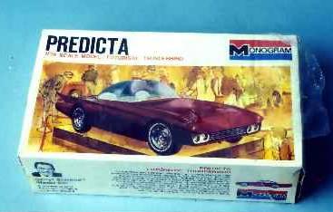 Predicta - Darrill Starbird - 1956 tbird radical bubble top custom 1212