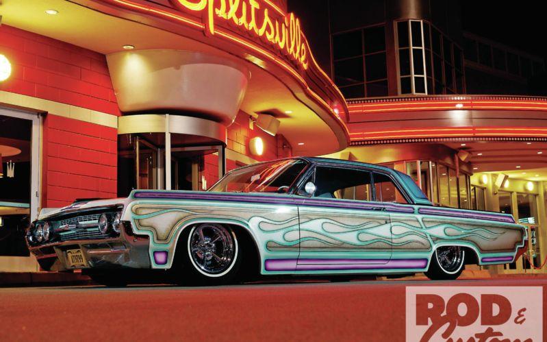 Oldsmobile 1961 - 1964 custom & mild custom 1212rc12