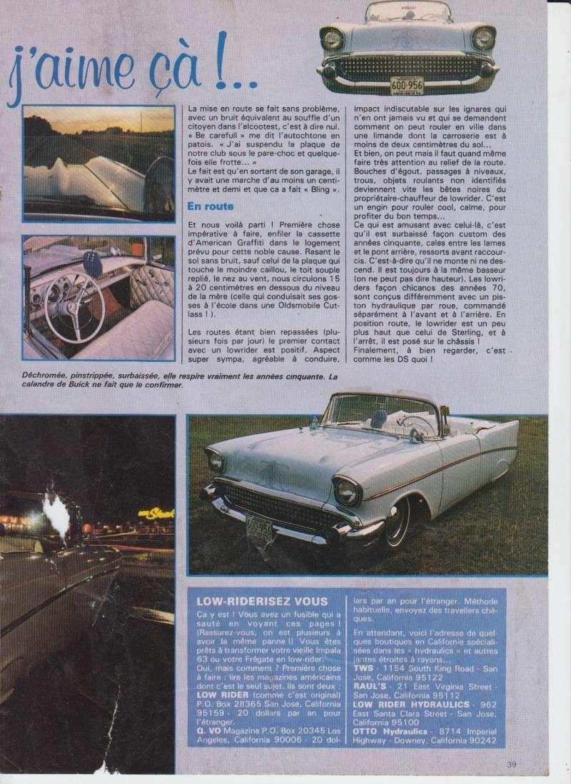 """Article """"Rod et Custom"""" années 80 210"""