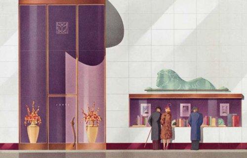 Shop America - Midcentury Storefront Design 1938-1950 - Steven Heller, Jim Heimann 41djop10