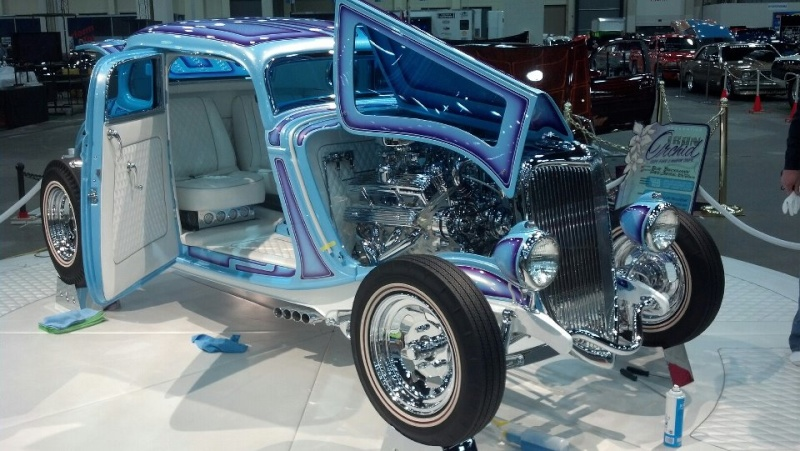 Iron Orchid - '34 Ford -  Galpin Auto Sports 54425810