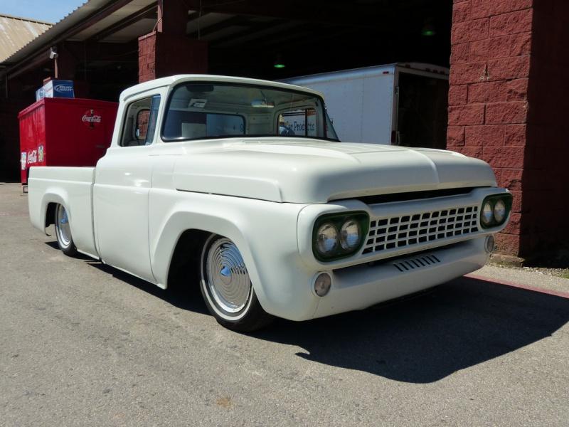 Ford Pick up 1958 - 1966 custom & mild custom 58ford10