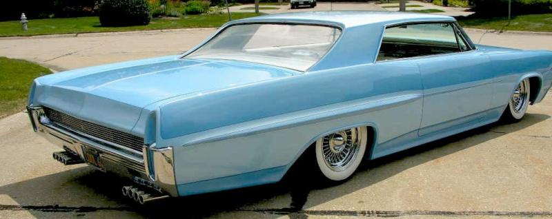 Pontiac 1963 - 1967 custom & mild custom 64gp1710