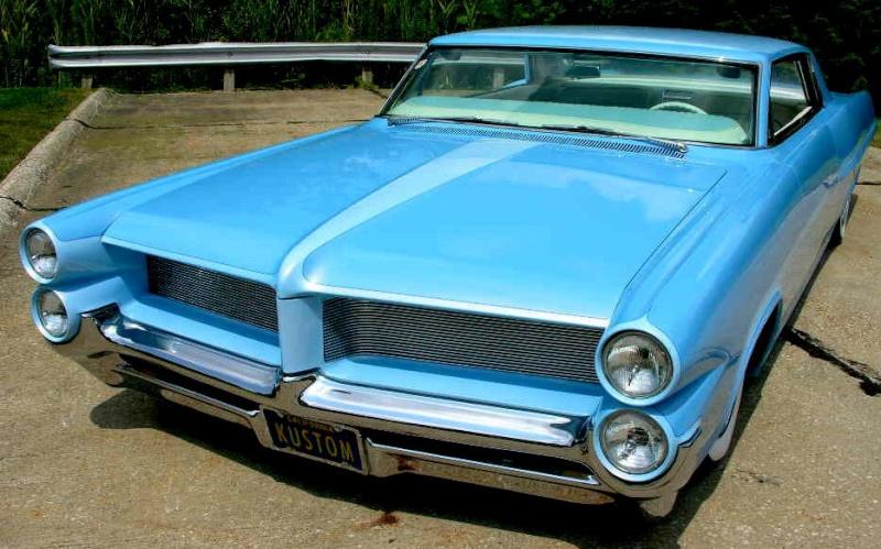Pontiac 1963 - 1967 custom & mild custom 64gp410