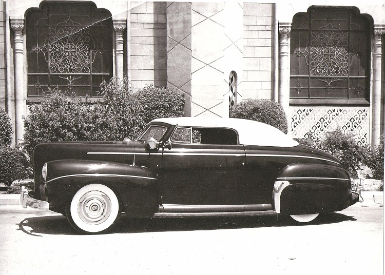 custom cars in the street ( 1950's & 1960's) Barris10