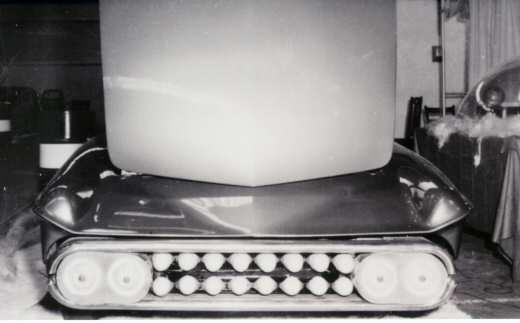 Predicta - Darrill Starbird - 1956 tbird radical bubble top custom D-110