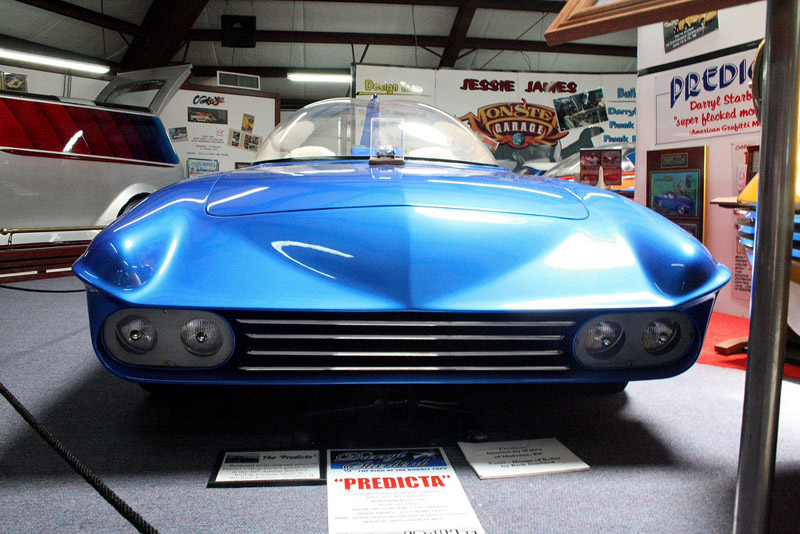 Predicta - Darrill Starbird - 1956 tbird radical bubble top custom Darryl11