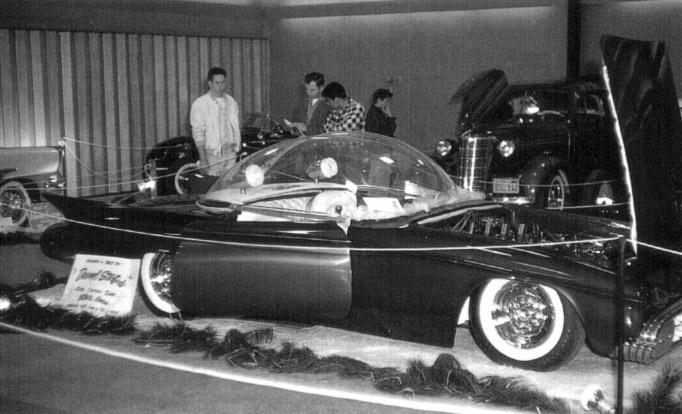 Predicta - Darrill Starbird - 1956 tbird radical bubble top custom Darryl12