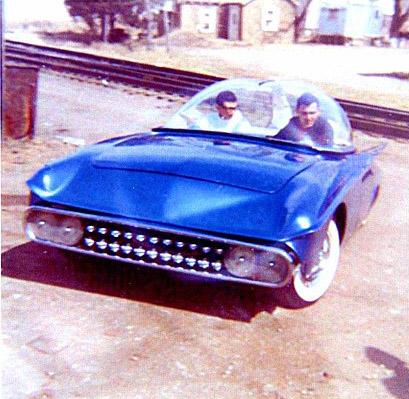 Predicta - Darrill Starbird - 1956 tbird radical bubble top custom Darryl13